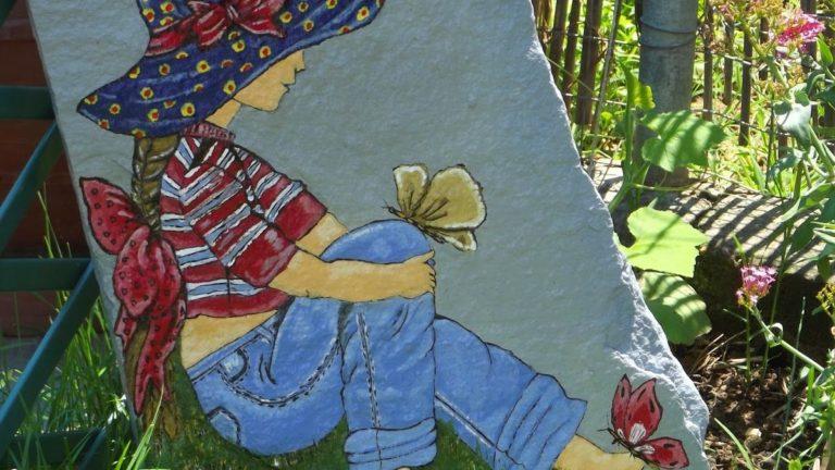 stone painting design