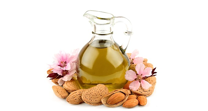 almond oil olive oil and honey face pack