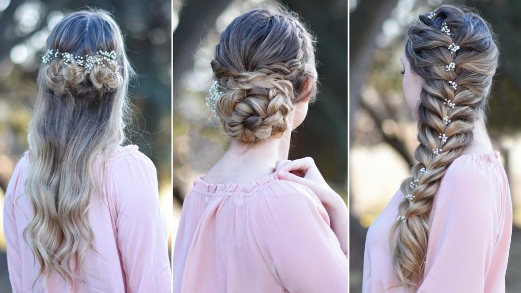 Instant hairstyle for girls