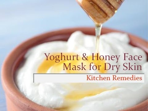 Mask of honey and curd