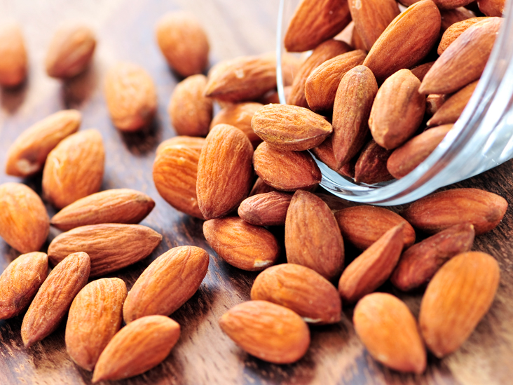 almonds beneficial for our health