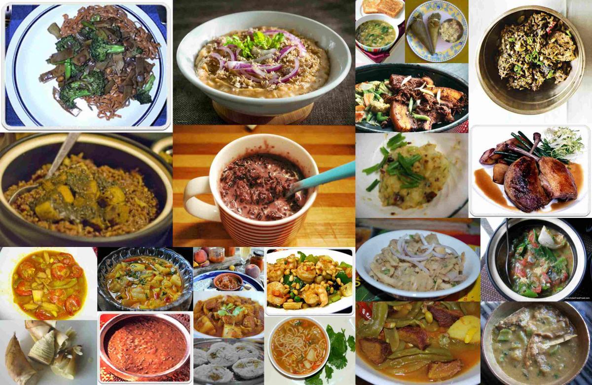 Manipur famous food discs