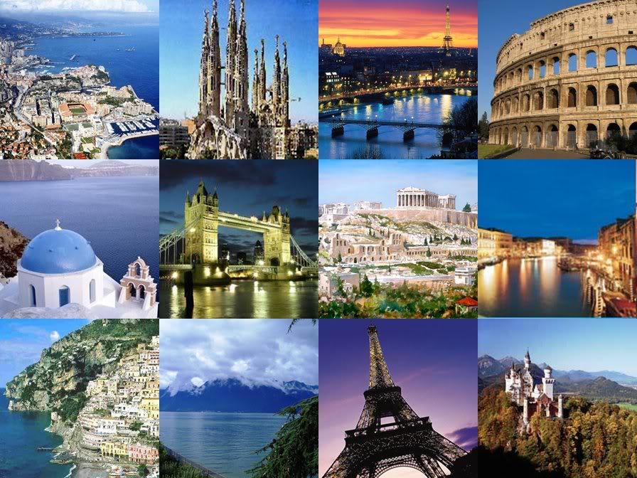 famous city destination