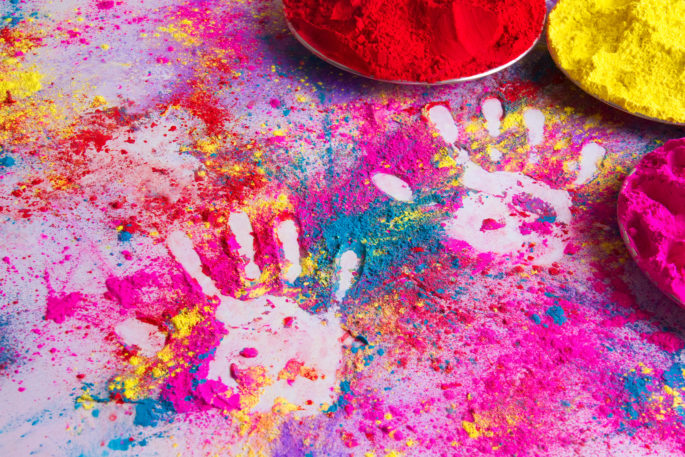 places where Holi is more famous