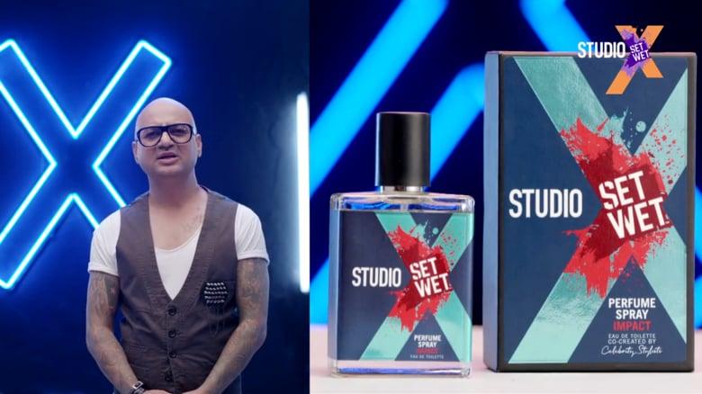 Set Wet Studio X Perfume